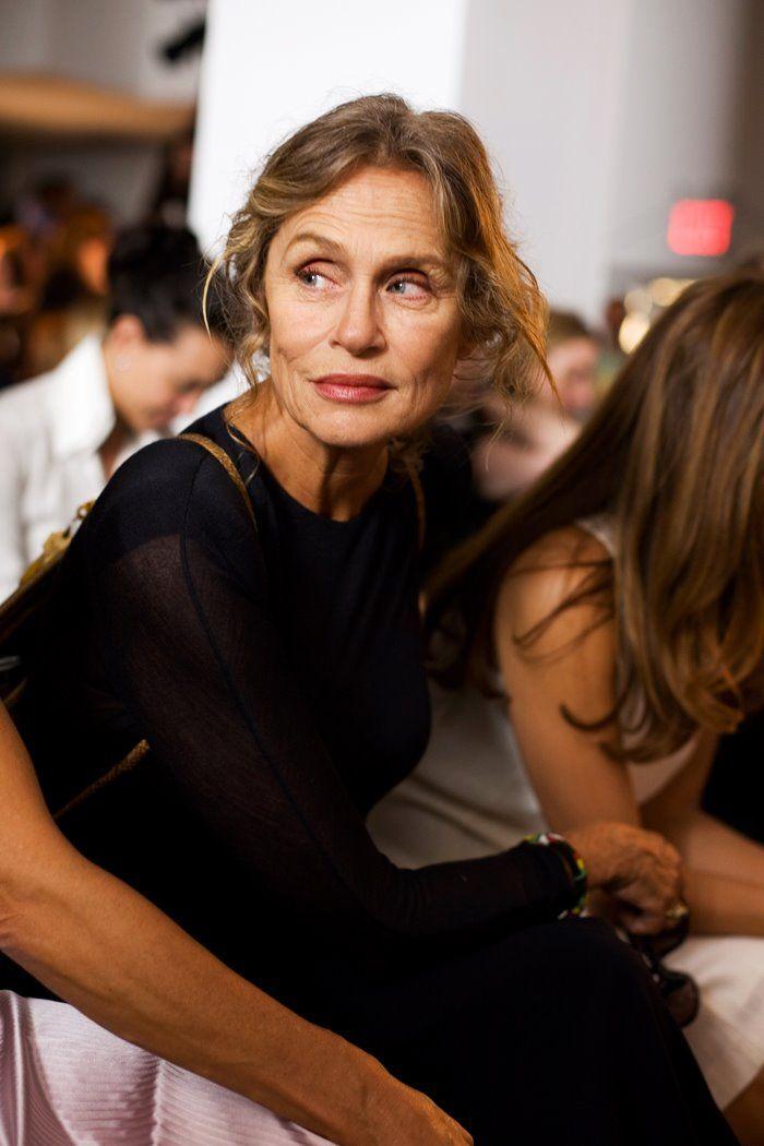 The always fabulous Lauren Hutton at Calvin Klein « The Sartorialist