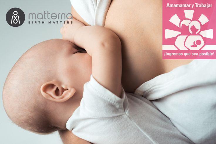 """Semana Mundial de la Lactancia Materna 2015: """"Amamantar y trabajar ¡logremos que sea posible!"""" #Matterna #WBW2015 #SMLM2015"""