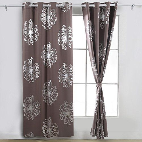 54 inch drop eyelet curtains