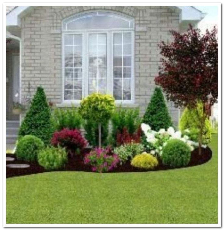 Lawn Begone 7 Ideas For Front Garden Landscapes: 32 Easy And Low Maintenance Front Yard Landscaping Ideas 7