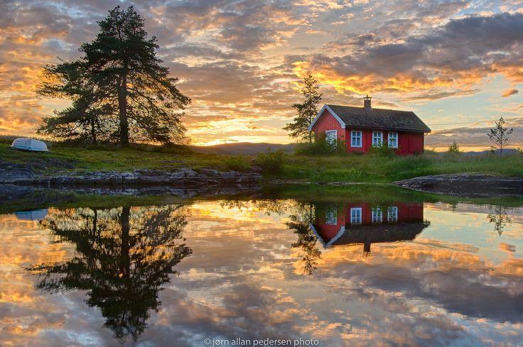 Summer Sunset by Jørn Allan Pedersen on 500px