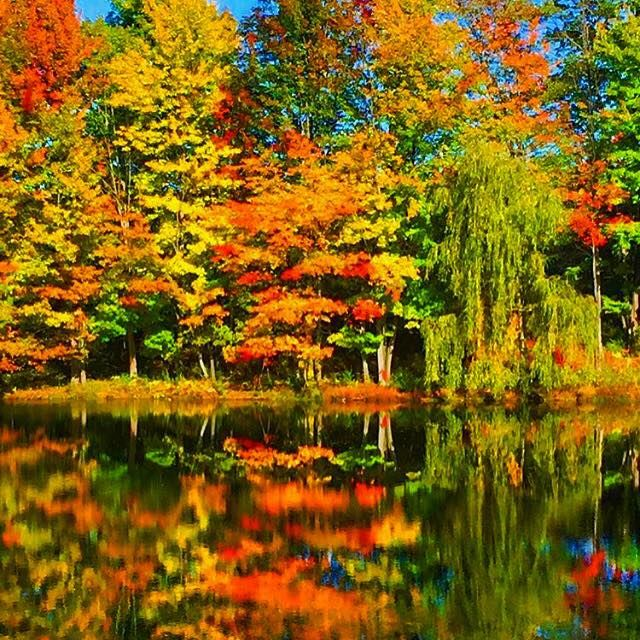 Beautiful Places Hudson Valley: The Colors Are Still In Full Force... #hudsonvalley