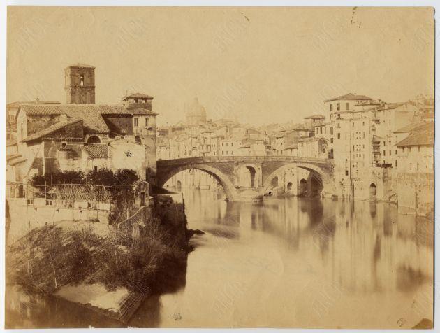 Isola Tiberina 1860