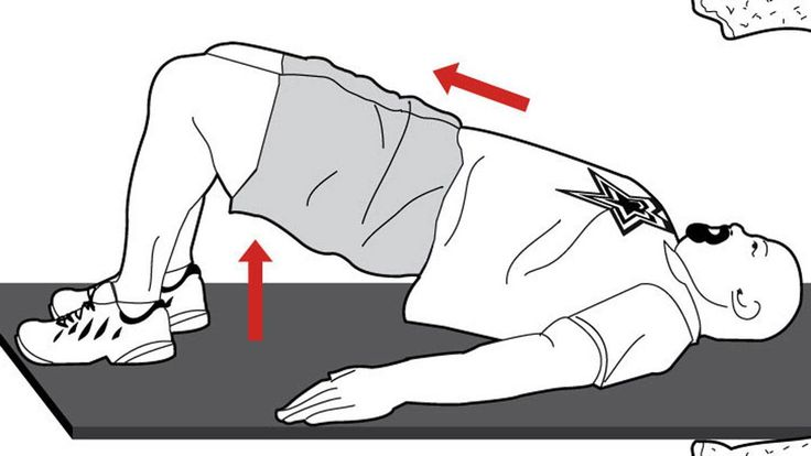 "Work your bum and core with the ""Bridge"". Stealth Workout. The Globe and Mail"