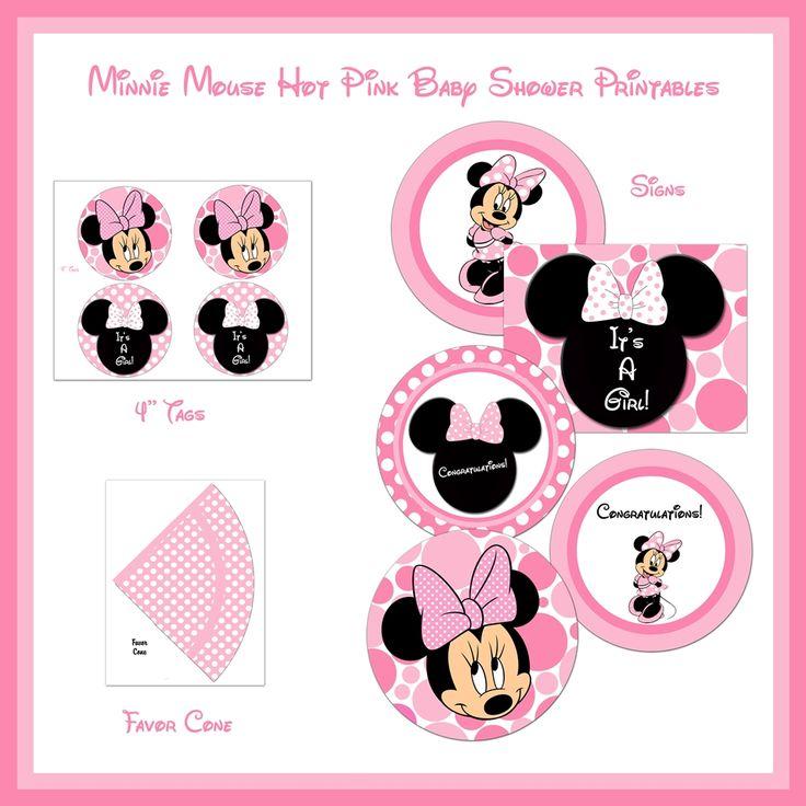 10 Best Minnie Mouse Baby Shower Invitations Walmart