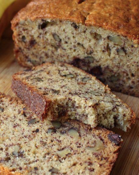 Keto Banana Walnut Bread Recipe - The Keto Diet Recipe Cafe