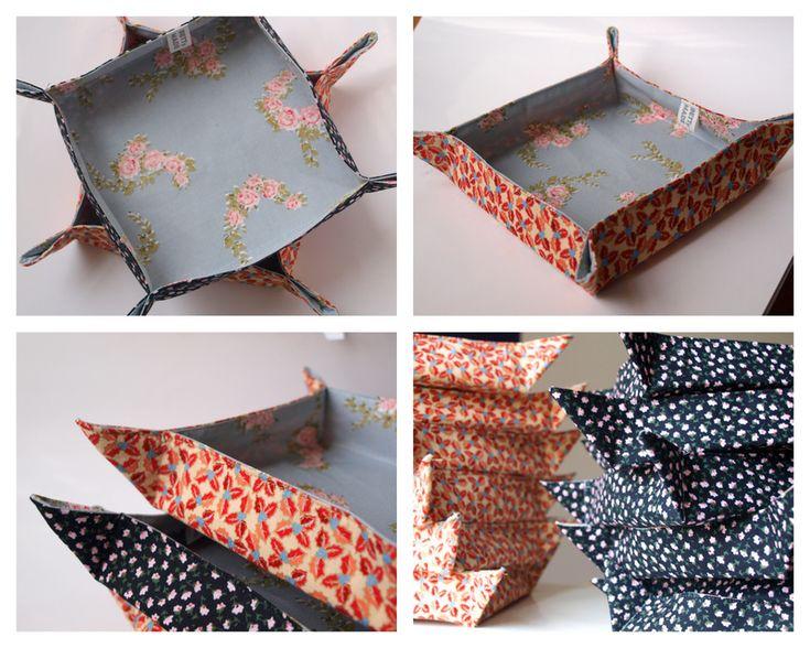 látkové misky / fabric trays