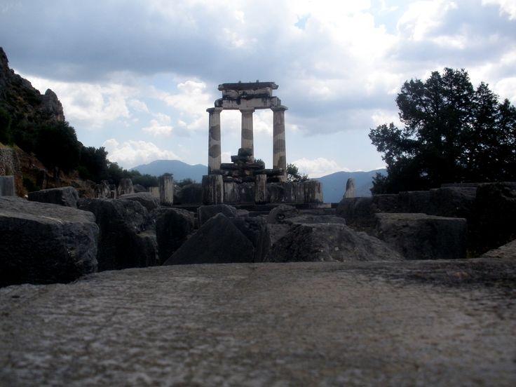 Temple of Athena, Delphi