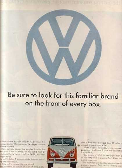 VW's Bus (1965) ad.
