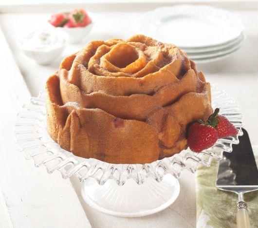 Vanilla Dusty Ol' Okie Rose Cake (winning recipe from 2011 Bundts Across America Contest)