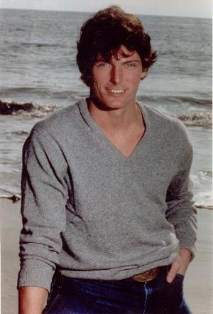 Christopher Reeve...gone too soon. Loved this man from the moment I saw him in Somewhere In Time. He is absolutely gorgeously handsome.