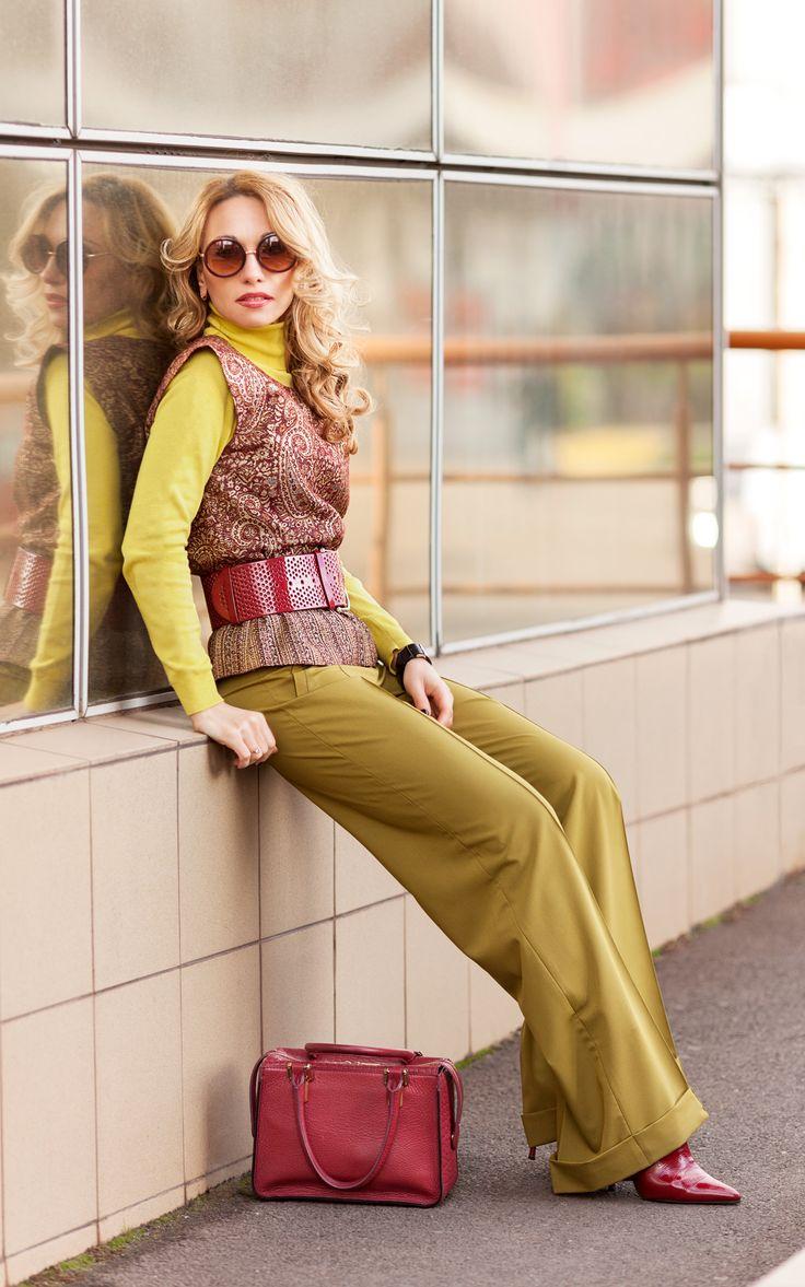 Брюки в стиле Марлен Дитрих - мужская одежда для женщин