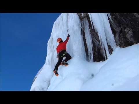 Técnica gestual para escalada en hielo - YouTube
