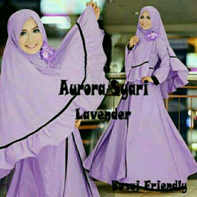 Saya menjual Aurora syari lavender seharga Rp145.000. Dapatkan produk ini hanya di Shopee! http://shopee.co.id/alunashop/4347101 #ShopeeID