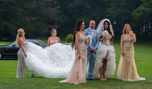 Trouwfoto's maken van Andy & Melica door www.fotogaleriemieke.nl. De trouwjurk is ontworpen door Ramona Poels van Koonings  Bruid & Bruidegom. #andyvandermeijde #melisa #huwelijk #marriage #koonings