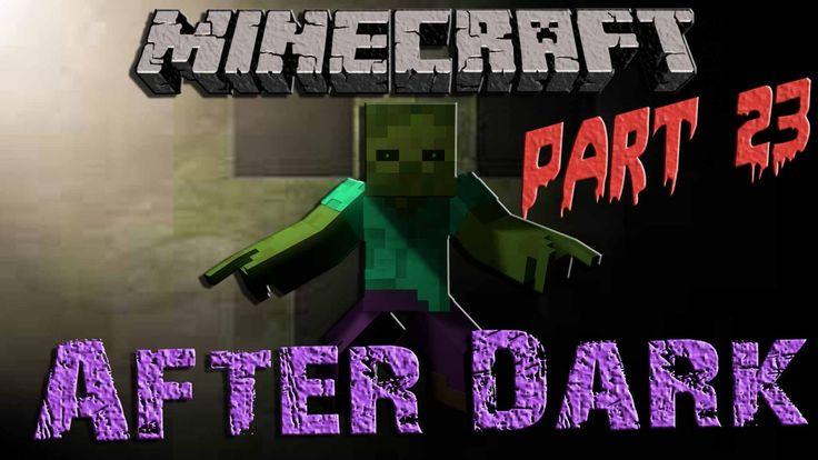 Minecraft After Dark || Part 23 || Semi Automatic Wheat Farm