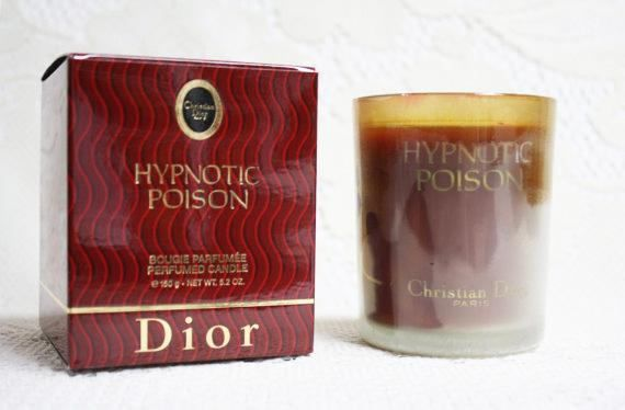 Hypnotic Poison Perfumed Candle, Dior Hypnotic Poison