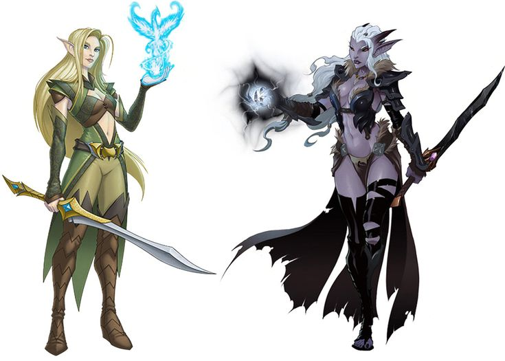 Elves Concept from EverQuest Next