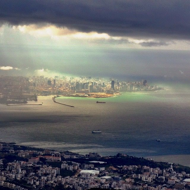 LEBANON, BEIRUT AT A DISTANCE