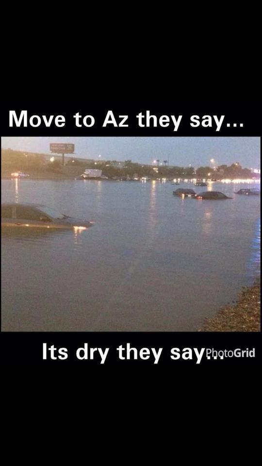 The Best Of Arizona Monsoon Memes