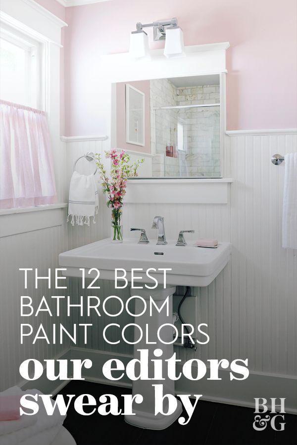 12 Popular Bathroom Paint Colors Our Editors Swear By Trending Bathroom Colors Bathroom Paint Colors Bathroom Color Schemes