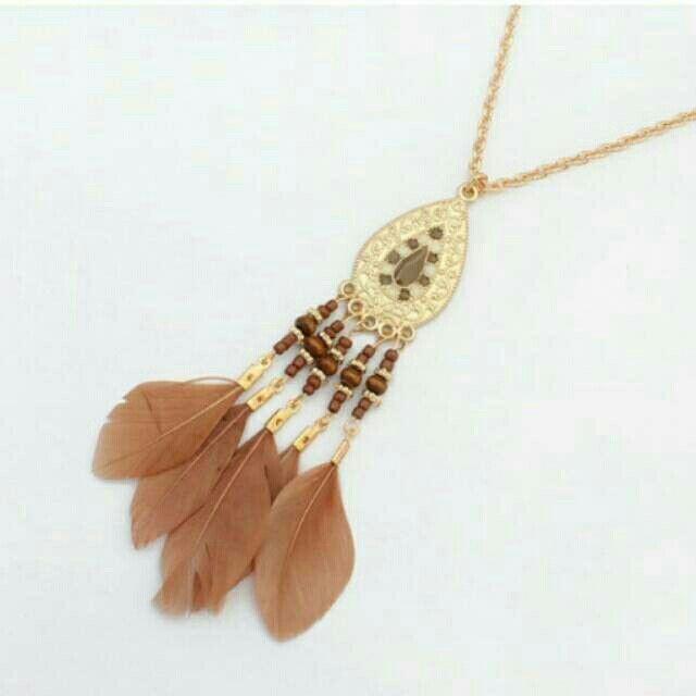 Saya menjual Kalung Fashion Etsy Bohemian feather drop water pendant simple necklace -0AB6C8 seharga Rp23.000. Dapatkan produk ini hanya di Shopee! https://shopee.co.id/deventostore/49062899 #ShopeeID