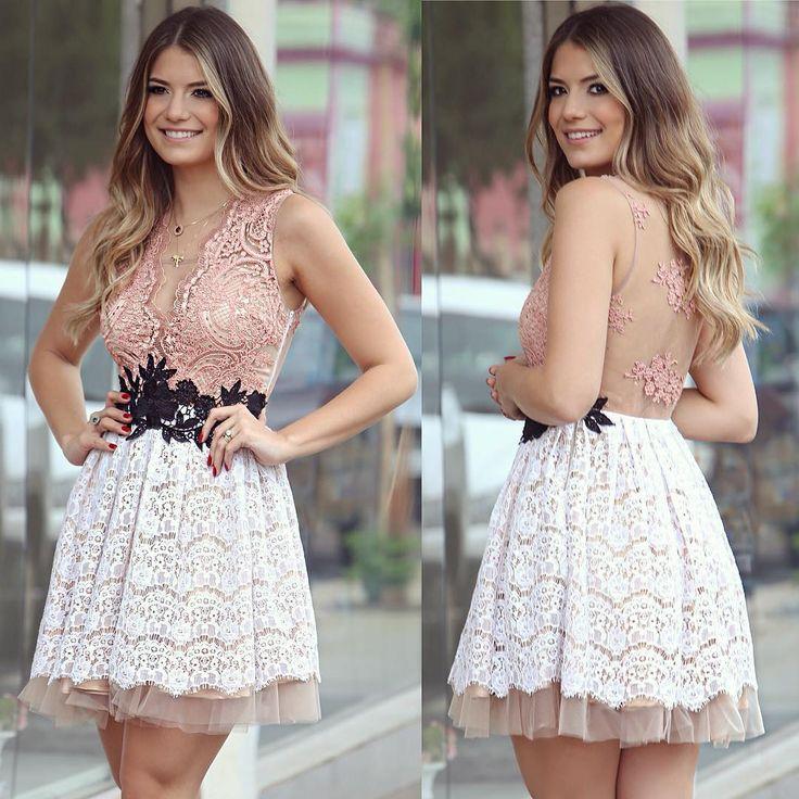 """""""Meu escolhido de hoje @roupanmodas Tem mais lindo? ❤️❤️ A loja envia para todo o Brasil viu meninas?! • #lookdodia #1anoroupan #blogtrendalert PH:…"""""""