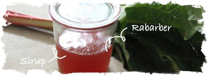 SalatTøsen » Rabarbersirup
