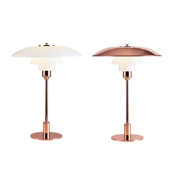 PH 3½-2½ Copper table lamp - Limited edition by Louis Poulsen
