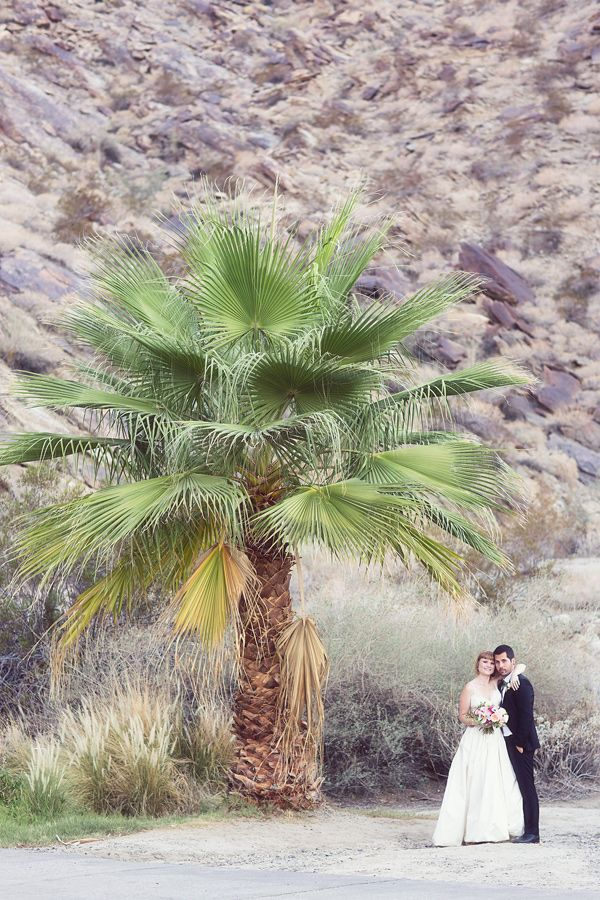Palm Springs wedding with tattooed rockers - photo by Lovers of Love Photography http://ruffledblog.com/palm-springs-wedding-with-tattooed-rockers