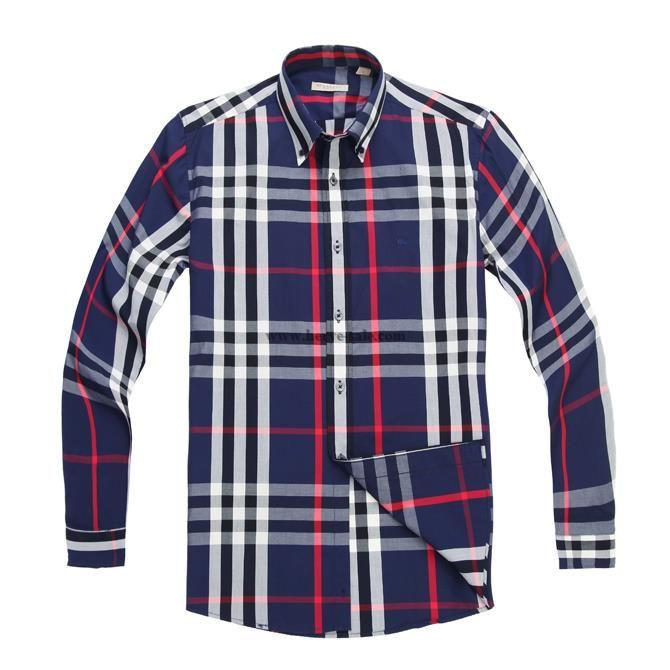 Burberry Men Shirt 2014-2015 BTS220