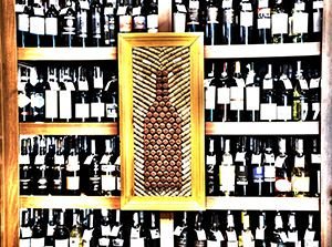 Korkowo - Wine bottle  image make of corks #wine #cork #bottle