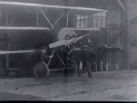 The first Fokker Triplane F.I/102, tested by Manfred Freiherr von Richthofen on the 17th september 1917. this little piece of film was made by Tony Fokker himself.