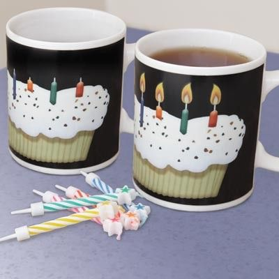Looking for gift ideas? A birthday surprise is a hot drink away with this colour changing mug! Watch all 12 candles light up as this birthday mug heats up! Great for special occasions and gifts for that special someone, friend or family. Find it here: http://www.magnamail.com/new-arrivals/happy-birthday-colour-change-mug.html