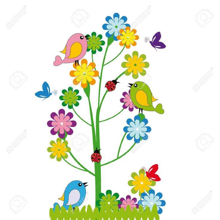 oiseau dessin couleur - Recherche Google