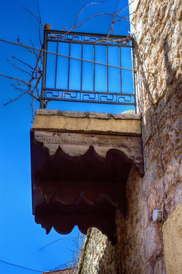 Old Balcony, Arahova, Greece