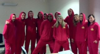 The Staff at Pataks decided to have a onesie day!