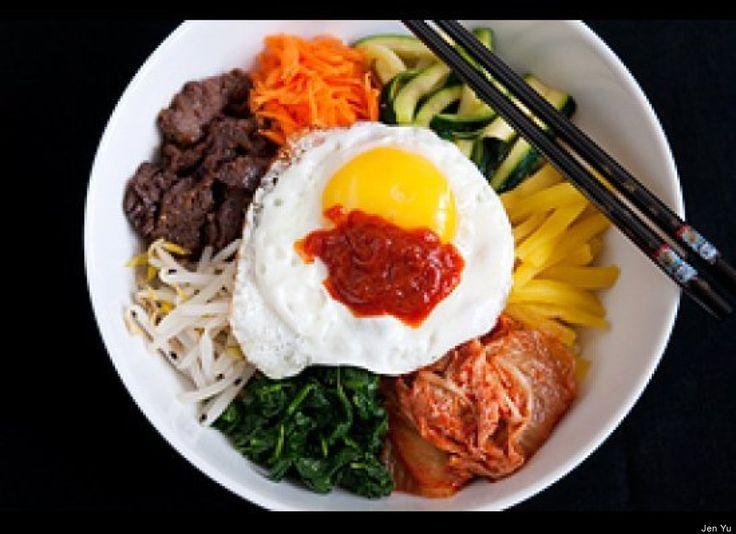 Bibimbap - a staple food in Korea. Easy to make.