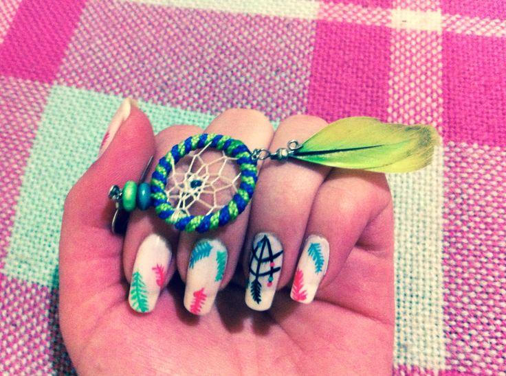 Nail Art  Atrapa sueños