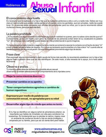 Materiales Para La Prevención y Visualización del Abuso Sexual Infantil: Nunca mas gritos sin voz