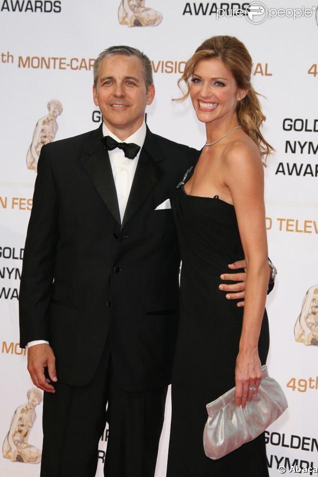 Tricia Helfer and Johnathan Marshall