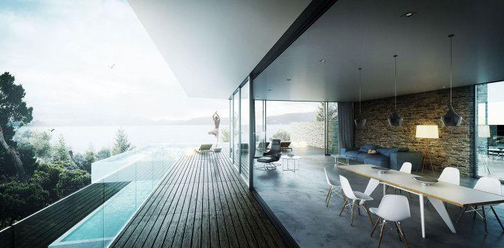 Realización de Casa Mediterráneo Nookta - Visualización 3D Arquitectura y Blog Rendering