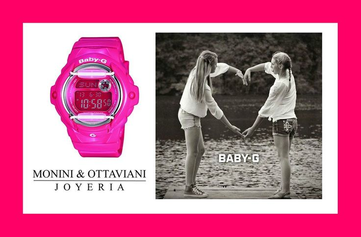 Love pink, love Baby G !
