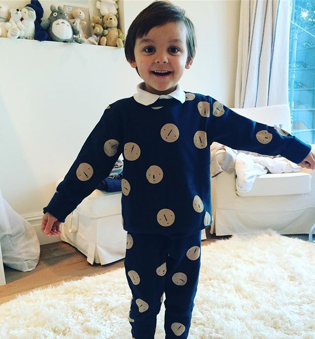 We are head to toe spotty today in Tinycottons for Children In Need!