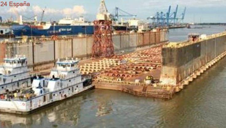 El buque que traería a Tenerife el dique de EE.UU. está en Colombia y pone rumbo al sur de Venezuela
