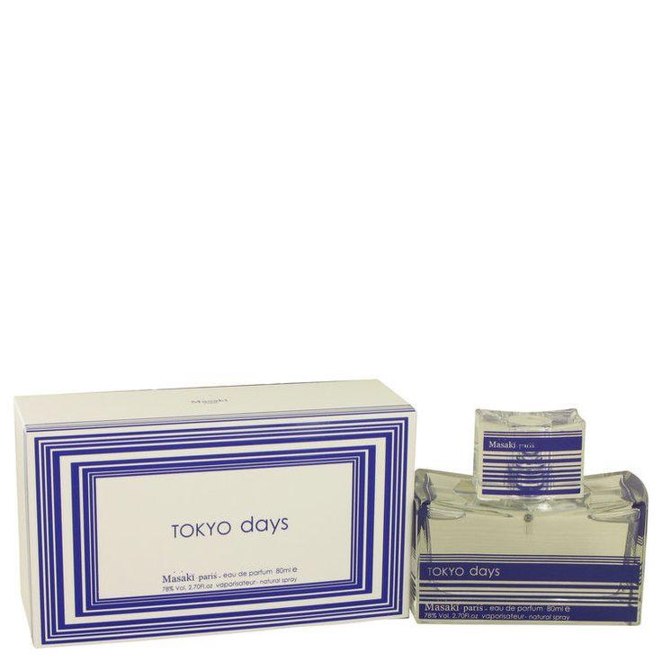 Tokyo Days Perfume 2.7 oz Perfume EDP Spray By MASAKI MATSUSHIMA FOR WOMEN NIB  #MASAKIMATSUSHIMA