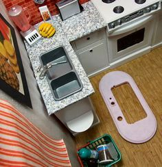 How to Make Barbie Furniture | ... trusty Olfa knife and some cardboard leftover from making my stairs