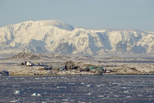 Palmer Station is located at 64 degrees, 46' S, 64 degrees, 03' W, on a protected harbor on the southwestern coast of Anvers Island off the Antarctica Peninsula. It is the only U.S. Antarctic station north of the Antarctic Circle. Palmer is superbly located for biological studies of birds, seals, and other components of the marine ecosystem. It is accessible only by ship.Palmer Station is named for Nathaniel B. Palmer, a Connecticut sealer who, on 17 November 1820, during an exploratory…