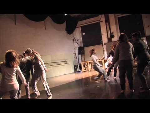 """Teatro danza - Esame dell'accademia di teatro di Roma """"Cassiopea"""""""