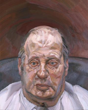 The Painter's Brother, Stephen, 1985-1986  Lucian Freud